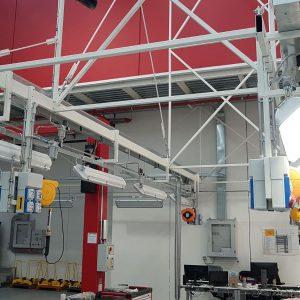 Impianti di trattamento e distribuzione aria compressa